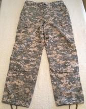 Digital Camouflage ACU Army Military Uniform Pants Size Medium Regular - $24.99