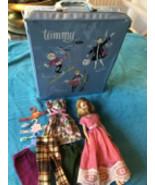 VINTAGE IDEAL 1965 Original Tressy Doll & Original Clothes & Tammy Case HtF - $89.49