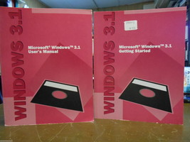 Microsoft Windows 3.1 User's Manual and Microso... - $9.95