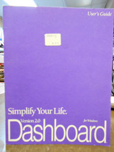 Dashboard for Windows version 2.0 User's Guide by Borland - $9.95