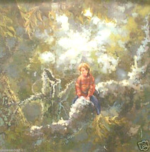 Day Dreaming by R. Vernet; Original Oil - $1,290.00