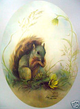 Summer's Joy by Betty Allison; squirrel - $155.00