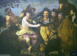 The Merrymakers by Velasquez - $45.00