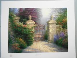 Thomas Kinkade Open Gate  paper edition - $225.00