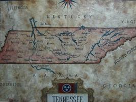 Tennessee Map by Julius Lira Salazar - $1,606.50