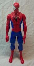 "HASBRO Marvel Comics NICE SPIDER-MAN 11"" JOINTED PLASTIC ACTION FIGURE T... - $15.35"