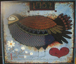 Puffbelly Warbler by Wysocki - $35.00