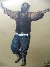 Tammerlin: Rare Hand-pulled Lithograph of Jewish Dancer - $125.00