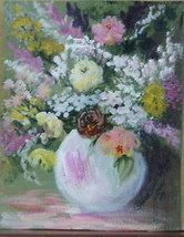 Flower In Vase 2 by Anna S. Ray - W/C - $195.00
