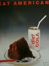 Eat American by Norman Millar - coke-cake-food - $65.00