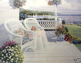 Water View by Penney - porch scene - $55.00