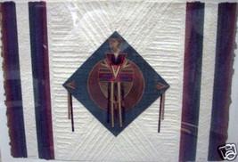 Cantico II by Joy Broe; Original Textile Canvas Art - $1,390.00