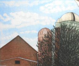Sky Cropping by K. E. Gallagher; Silo, Farm - $800.00
