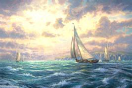 New Horizons - Thomas Kinkade - $795.00