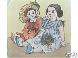 Sisters by Anna Weber; Handcolored Etching - $95.00