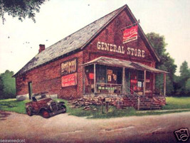 The General Store by Wellington Ward - $120.00