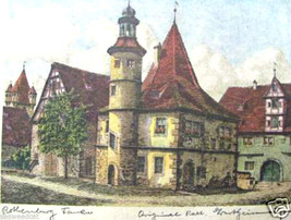 Rothenburg Private Residence by Ernst Geissendorfer - $60.00