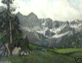 Dachstein, Stonewall by Josef Eidenberger - Etching - $850.00
