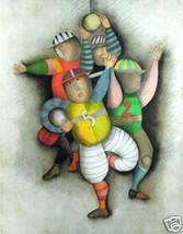Football by Graciela Rodo Boulanger - Lithograph - $1,000.00