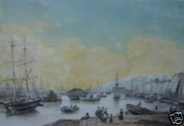 L. Turgis - Toulon Vue du Port Marchand - $375.00