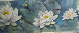 Water Lillies by Nortrud Deport  signed - $1,250.00