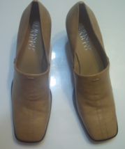 Franco Sarto Loafers Used Size 9 M Color Tan Excellent Condition - $25.00