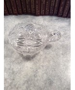 American Brilliant Cut Crystal Relish Nut Candy Dish Vintage  - $20.00