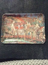 Vintage Souvenir Tip Tray Pissarro Les Toits Rouges Made In Italy  INDPLS - $7.70