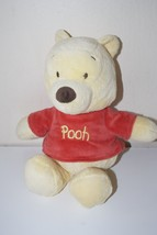 "Winnie The Pooh Disney Baby Plush Rattle Crinkle Ears Pinkish Shirt 12"" - $14.95"