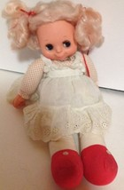 "Bintage 1976 Blinkie Blue Eyed Lesney Doll 16"" ... - $26.54"