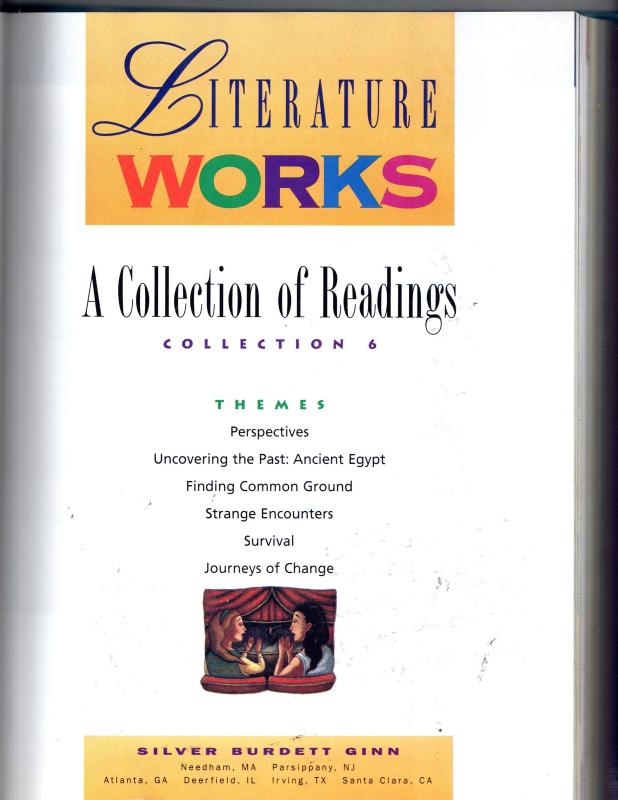 Literature Works -Silver Burdett Ginn