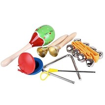 Homieco™ Musical Instruments Kids Toys Set 5 pcs for kids-Percussion & R... - $32.74