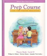 Alfred's Basic Piano Prep Course Theory Level D - $5.95