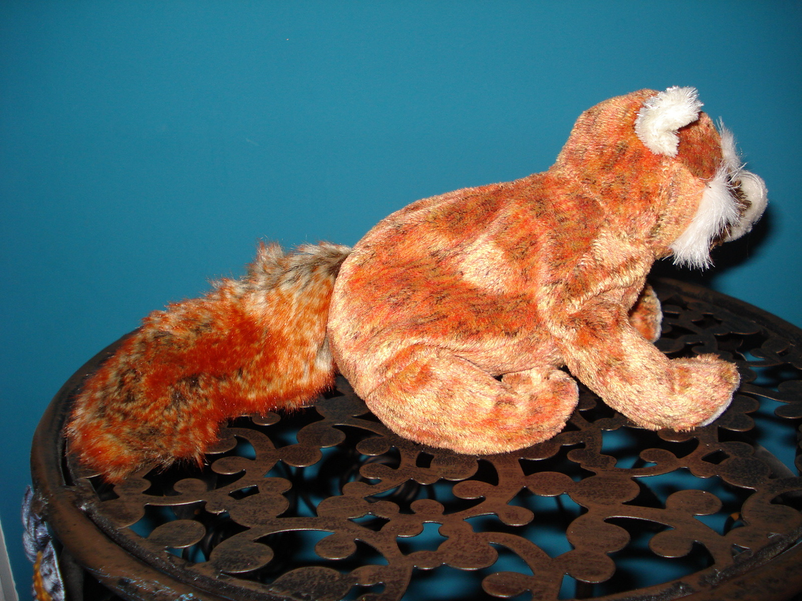 79c70d888e1 Ty Beanie Babies Rusty the Red Panda Bear Great Pre Owned No Hangtag  Retired 03