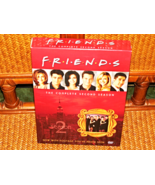 FRIENDS DELUXE 2ND SEASON 4 DVD ALL EPISODES BOXED ACTORS PICTURED FULL ... - $8.99