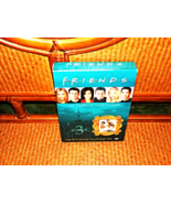 FRIENDS DELUXE 3RD SEASON 4 DVD ALL EPISODES BOXED ACTORS PICTURED FULL ... - $5.99