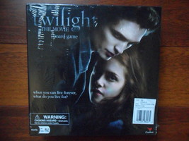 """Twighlight The Movie Board Game New!!!  Factory Sealed  2009"""" Cardinal - $14.65"""