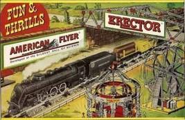 Fun & Thrills Billboard Face Self Adhesive Sticker American Flyer Train - $8.98