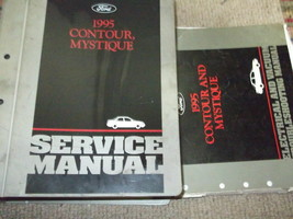 1995 Ford Contour & Mercury Mystique Repair Shop Service Manual Set W EVTM - $19.79