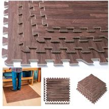 16 SQ FT Interlocking Floor Mat EVA Foam Puzzle Tiles Gym Exercise Kid O... - $45.43