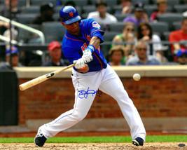 Juan Lagares signed New York Mets 16x20 Photo #12 (batting horizontal) - $27.95