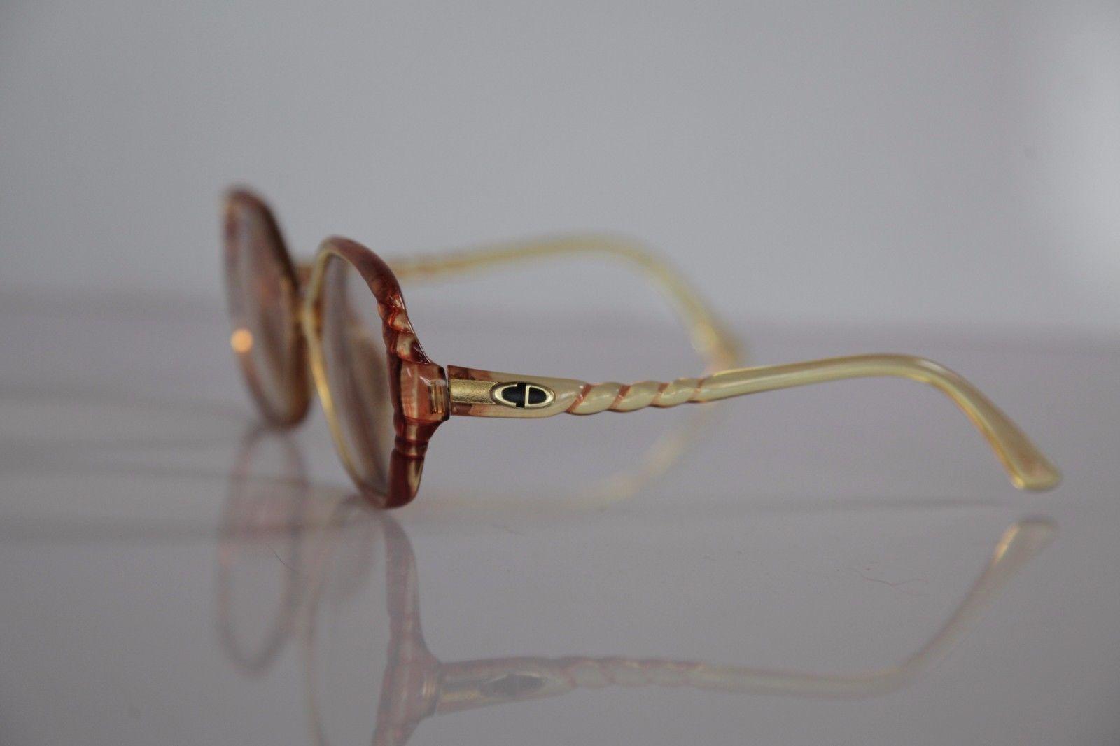 Vintage CHRISTIAN DIOR Eyewear,  RX-Able Crystal Prescription lenses. Germany
