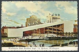 Proposed Washington State Pavilion - EXPO '74 Unused Vintage Postcard - $1.95