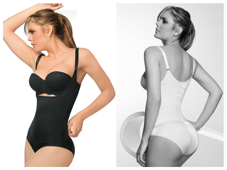 Ann Chery Latex Bodyshaper Bikini With Gusset Closure