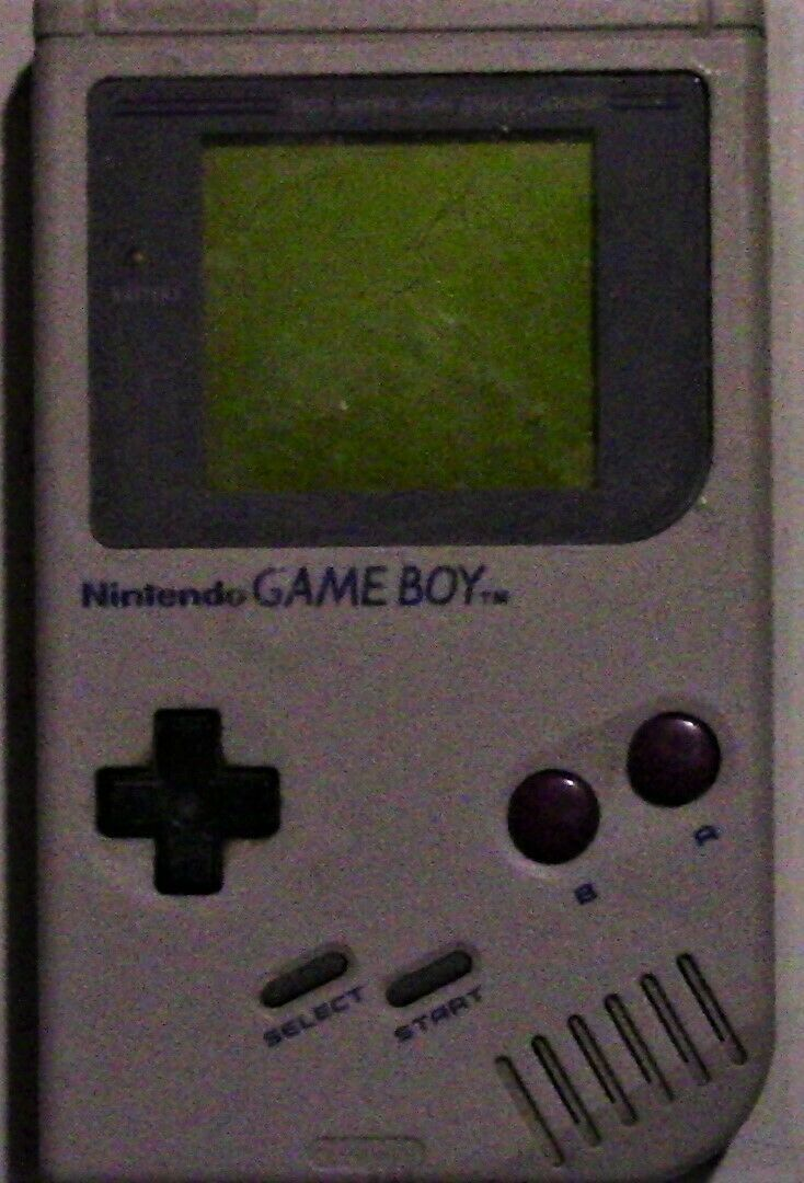 Original 1989 Nintendo Game Boy w/  Tetris, Original Pouch and Game share Cord