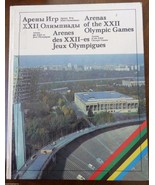 VTG Soviet Sport Book OLYMPIC GAMES 22 XXII MOSCOW 1980 Arenas - $34.65