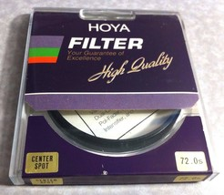 72mm Genuine Hoya Center Spot CS Glass Lens Fil... - $38.79