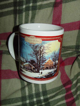 Houston Harvest Currier & Ives Winter Time Coffee Cup - $14.00