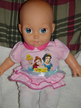 "Disney 2009 Princess Baby Doll 15"" Tall - $14.00"