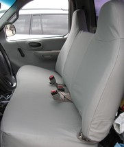 Custom Waterproof Seat Covers: 1999-2007 Ford F150, Light Duty F250 Solid Bench - $390.00